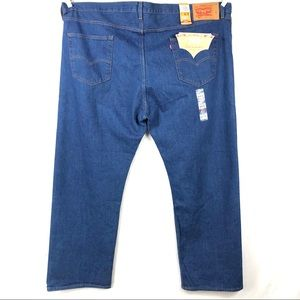Levis 501 irregular button fly big & tall jeans